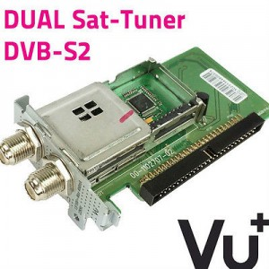 VU+ Uno Ultimo Plug and Play DVB-S/S2 Dual / Twin Tuner Module