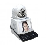 Network Phone Camera  IP - PTZ -Tel - Alarm -WiFi